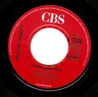 GREGORY ABBOTT Shake You Down Vinyl Record 7 Inch CBS 1986